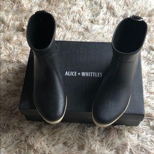 Alice + Whittles Rainboots
